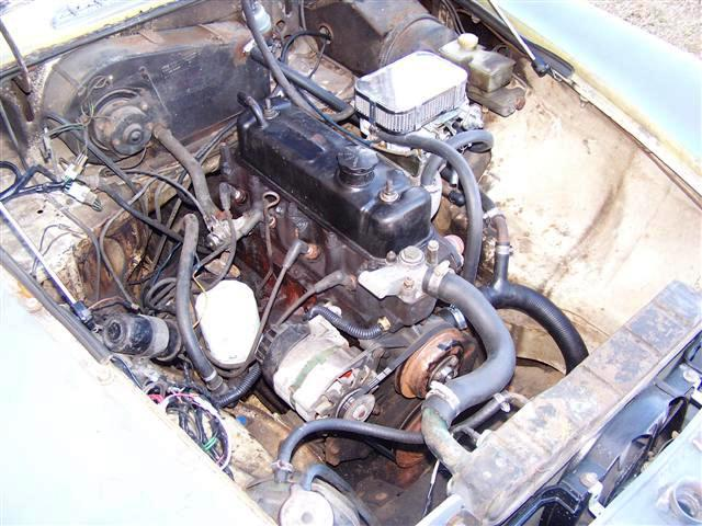 78bay1 (Small) 1978 engine compartment pictures mgb & gt forum mg experience mgb engine diagram at aneh.co