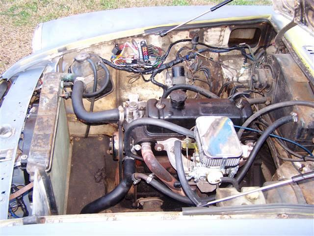 78bay2 (Small) 1978 engine compartment pictures mgb & gt forum mg experience mgb engine diagram at aneh.co